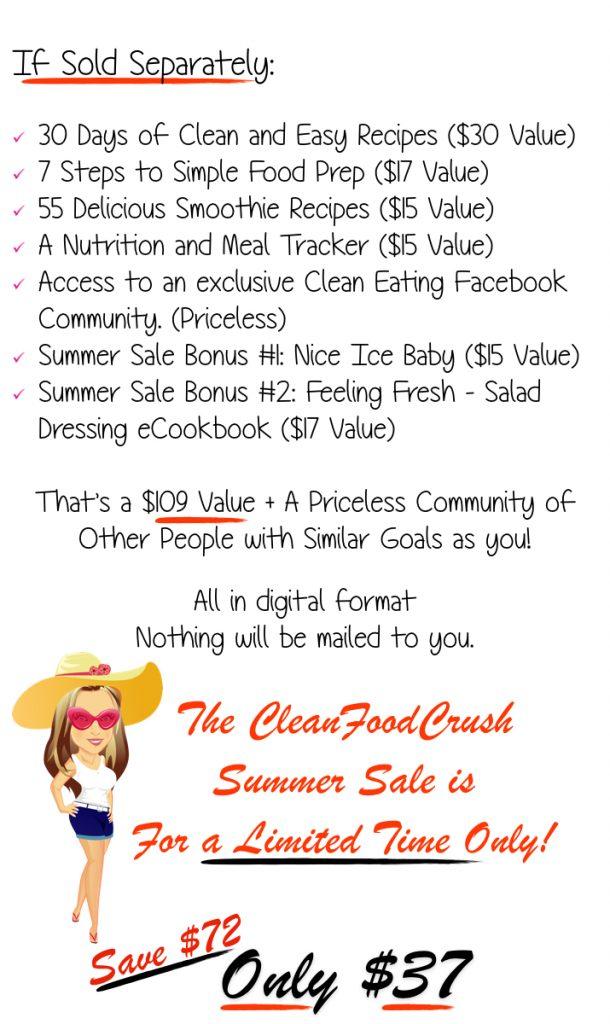 Summer Sale CleanFoodCrush.003