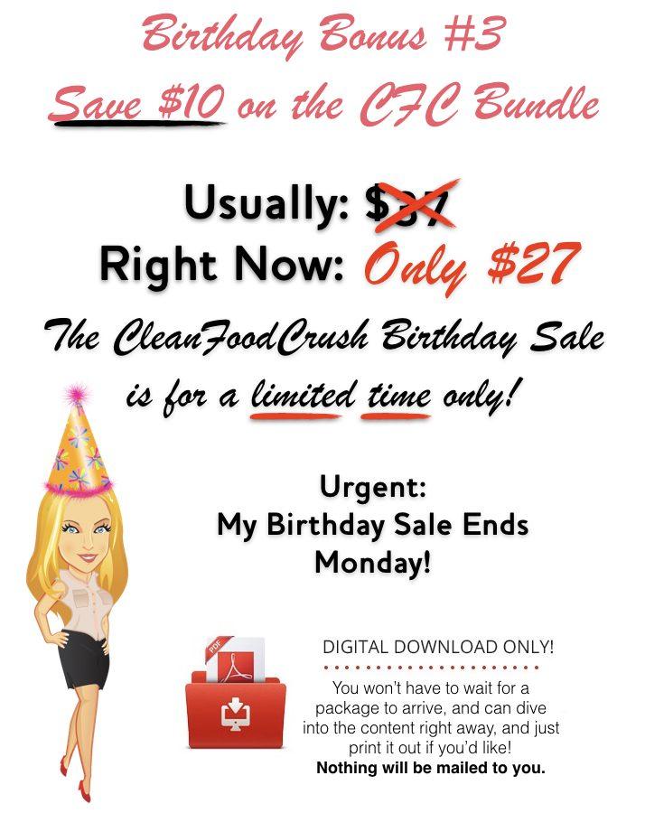 CFC Birthday Bonus 3
