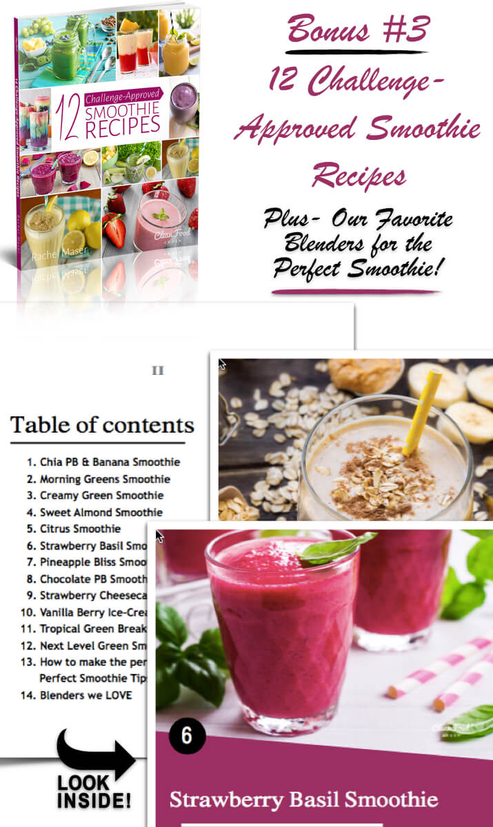 bonus challenge approved smoothie recipes